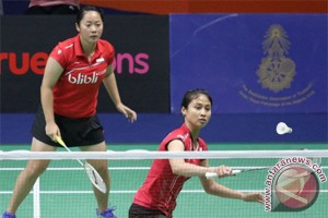 Tiara/Rizki mulus ke putaran kedua Thailand Masters