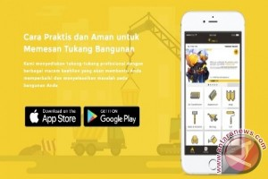 Aplikasi tukang.com banyak digunakan keluarga muda