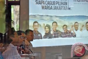 Polmark Indonesia: Ahok-Djarot dan Anies-Sandi saling kejar