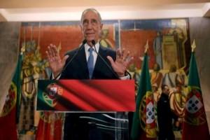 Presiden Portugal makan siang bersama pengungsi