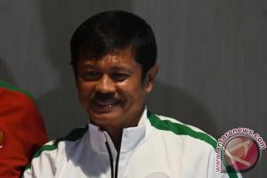 Indra Sjafri seleksi Timnas U-19 di Pekanbaru