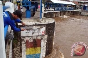 Bendung Katulampa siaga tiga banjir, Puncak masih gerimis
