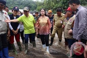 Menko PMK Tinjau Banjir Bitung