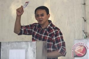 Ahok-Djarot menang di TPS Presiden Jokowi mencoblos