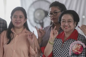 Megawati Gunakan Hak Pilih