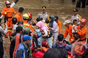 BNPB: 1.178 rumah terendam akibat luapan Ciliwung