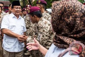 Prabowo Tanggapi Pilkada DKI Jakarta