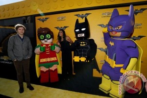 """Lego Batman"" ungguli ""Fifty Shades Darker"" di Box Office"