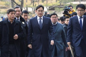 Pemimpin Samsung Group ditahan