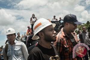 Karyawan Freeport ancam tutup kantor pemerintah Mimika