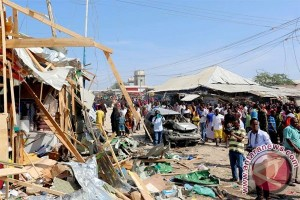 Bom bunuh diri di ibukota Somalia, 39 tewas