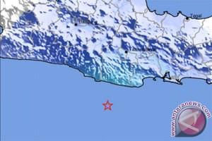 Gempa bumi terjadi di Lampung dan Tasikmalaya