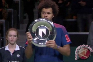 Tshonga juarai turnamen Rotterdam usai kalahkan Goffin