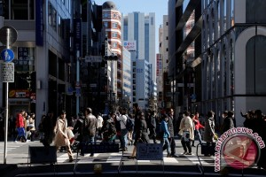 Saham Tokyo bervariasi pada awal perdagangan
