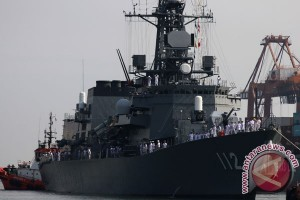 Pasukan Bela Diri Maritim Jepang singgahi Jakarta