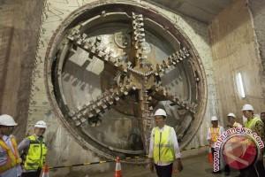 Presiden: seluruh terowongan MRT sudah tersambung