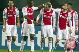 Lumat Lyon 4-1, Ajax di ambang ke final Liga Europa