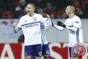 Meski kalah 1-3, Anderlecht lolos ke 16 Besar Liga Europa