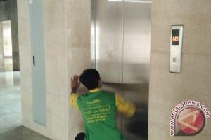 Istiqlal pasang lift untuk Raja Arab Saudi (video)