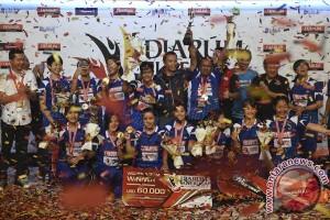 Tim Putri Mutiara Cardinal Juara DSL 2017