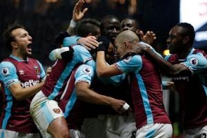 Andre Ayew selamatkan West Ham dari kekalahan atas Watford