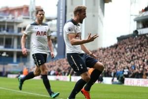 Babak pertama, Tottenham gunduli Stoke 4-0 berkat hattrick Kane