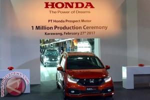 Produksi mobil Honda di Karawang capai sejuta unit