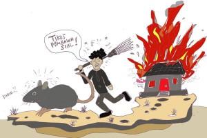 ANTARA Doeloe: Tikus membawa sial