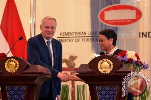Presiden Prancis berkunjung ke Indonesia akhir Maret