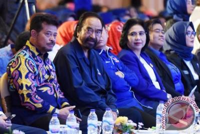 Gubernur Syahrul dan Surya Paloh gagas Sekolah Kebangsaan