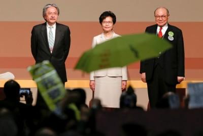 Pemimpin baru Hong Kong janji atasi perpecahan