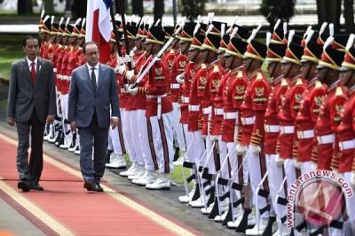 Kedatangan Presiden Perancis