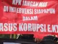 Tuntut Penuntasan Korupsi E-KTP