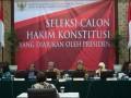 Seleksi Calon Hakim Konstitusi