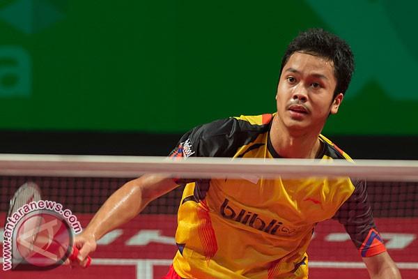 Permalink to Tiga tunggal putra Indonesia terpuruk di Kejuaraan Dunia