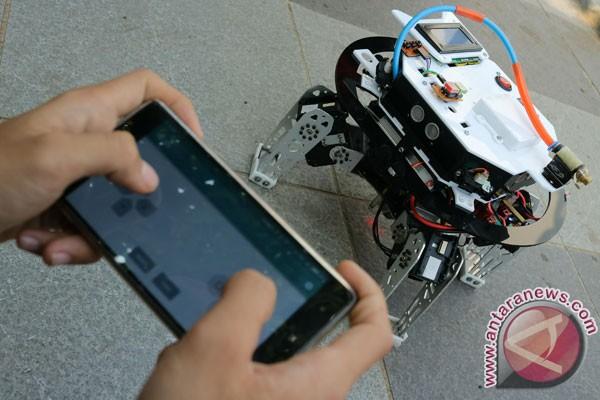 Prototipe robot pemadam api foto antara news