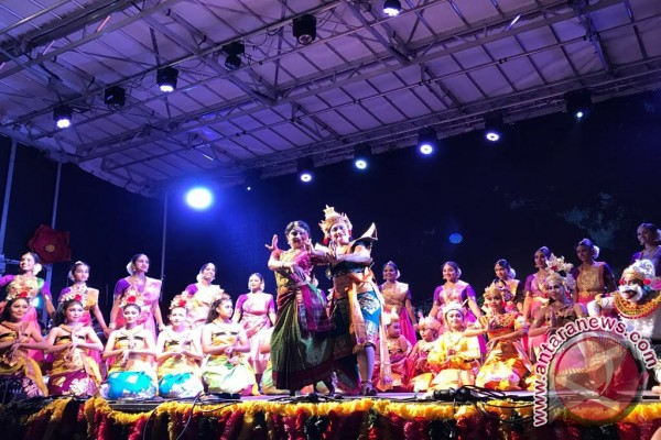 Indonesian, Indian artistes perform Ramayana ballet