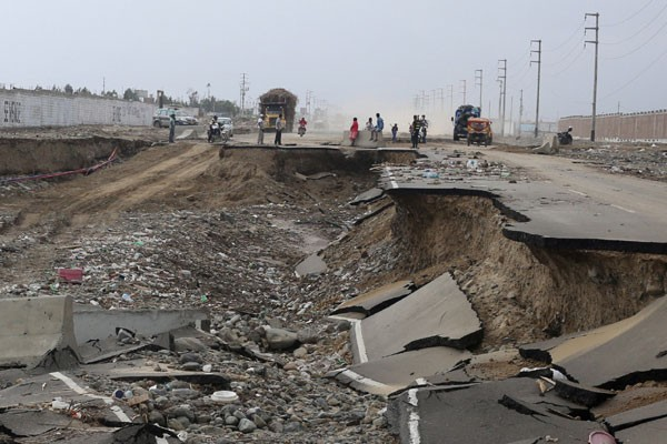75 tewas dalam banjir di Peru