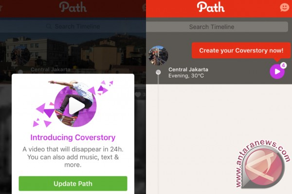 Kini Giliran Path Hadirkan Fitur Mirip Snapchat