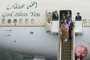42 penerbangan terganggu akibat kedatangan Raja Salman