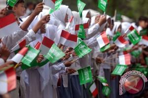 Warga ikut sambut Raja Salman di Istana Bogor