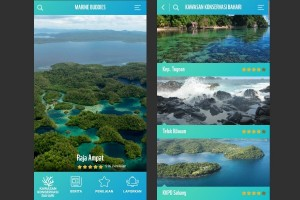 Mengenal kawasan konservasi lewat aplikasi Marine Buddies WWF