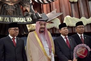 Raja Salman Di DPR