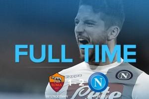 Napoli curi kemenangan di kandang AS Roma