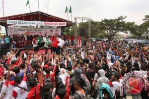 Kirab Kebangsaan TMP dan GP Ansor komitmen jaga NKRI