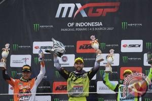 Pembalap Britania Raya juarai MXGP race 1