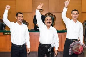 Hakim: mantan petinggi Gafatar tidak bersalah dalam kasus makar