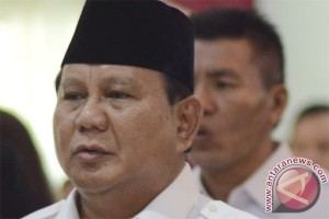 Prabowo ucapkan terimakasih kepada LSI Denny JA