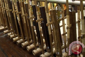Angklung meriahkan festival makanan Indonesia di Qatar