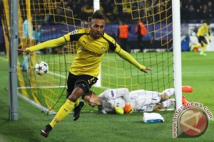 Liga Champions - Aubameyang antar Dortmund ungguli sementara Benfica 1-0